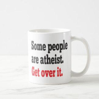 Get over it coffee mug