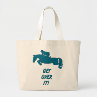 Get Over It Horse Tote Bag