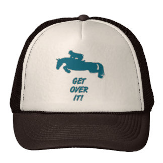 Get Over It Horse Hats