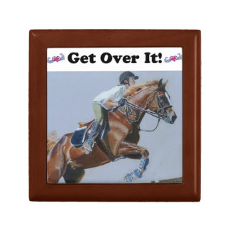 Get Over It Horse Jumper Gift Box