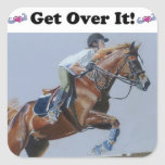 Get Over It! Horse Jumper Stickers