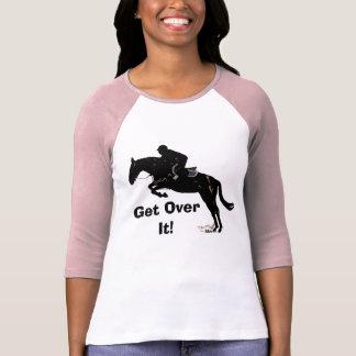 Get Over It! Horse Jumper T-Shirt