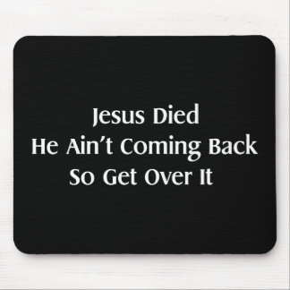 Get Over It Mouse Pad