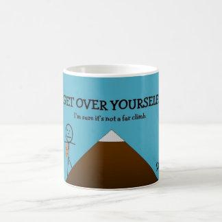 Get Over Yourself Classic White Coffee Mug