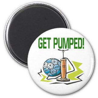 Get Pumped 2 Inch Round Magnet