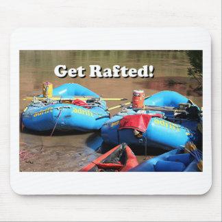 Get Rafted! Rafts, Colorado River, Utah, USA Mouse Pad