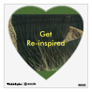 Get Re-inspired by nature Wall Sticker