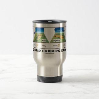 Get Ready For Derecho Season (Meteorology Weather) Travel Mug