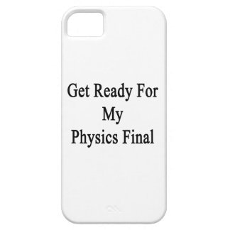 Get Ready For My Physics Final. iPhone 5 Case