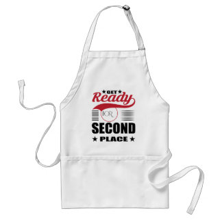 Get Ready for Second Place Adult Apron