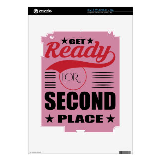 Get Ready for Second Place iPad 2 Skins