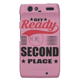 Get Ready for Second Place Motorola Droid RAZR Cover