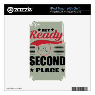 Get Ready for Second Place Skins For iPod Touch 4G