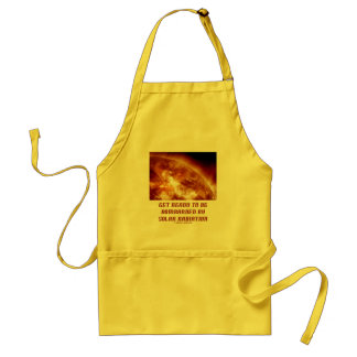 Get Ready To Be Bombarded By Solar Radiation Adult Apron