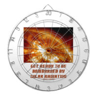 Get Ready To Be Bombarded By Solar Radiation Dart Board