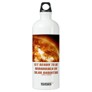 Get Ready To Be Bombarded By Solar Radiation SIGG Traveler 1.0L Water Bottle