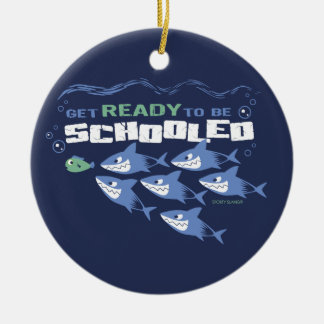 GET READY TO BE SCHOOLED - SPORTY SLANG- ORNAMENT