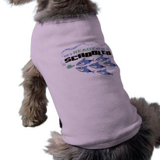 GET READY TO BE SCHOOLED - SPORTY SLANG- PET SHIRT