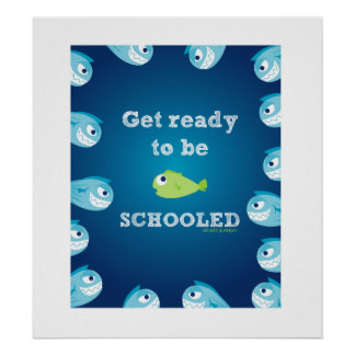 GET READY TO BE SCHOOLED- SPORTY SLANG- [POSTER POSTER