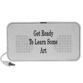 Get Ready To Learn Some Art iPod Speakers