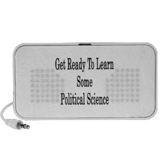 Get Ready To Learn Some Political Science iPod Speakers