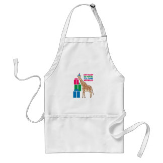 Get Ready To Party, It's Your Birthday Aprons
