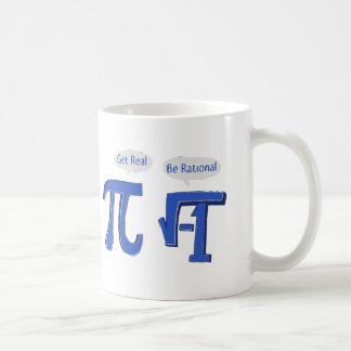 Get Real Be Rational Coffee Mug