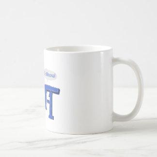 Get Real Be Rational Classic White Coffee Mug