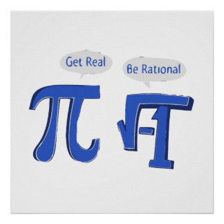 Get Real Be Rational Poster