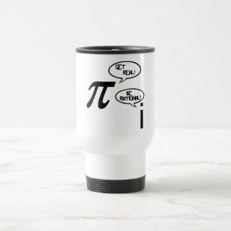 Get Real 15 Oz Stainless Steel Travel Mug