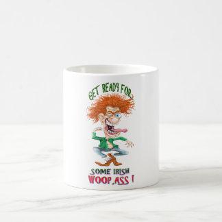 get reay for som irish woopass classic white coffee mug