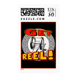 Get Reel Fishing T-shirts and Gifts Postage