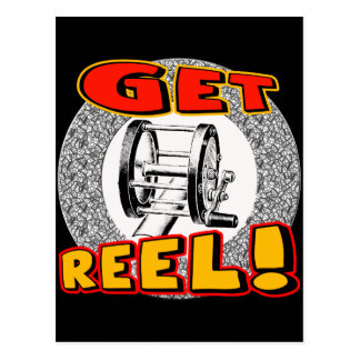 Get Reel Fishing T-shirts and Gifts Postcard