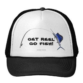 GET REEL GO FISH! TRUCKER HAT