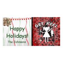 Get Reel - Little Girls Fishing Card
