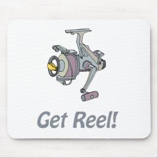 Get Reel! Mousepad