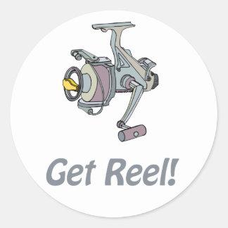 Get Reel Sticker
