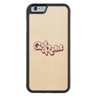 Get Rekt Carved Maple iPhone 6 Bumper Case