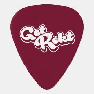Get Rekt Guitar Pick