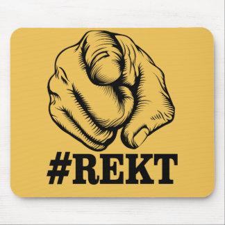 Get Rekt Mouse Pad