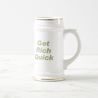 GET RICH QUICK COFFEE MUGS