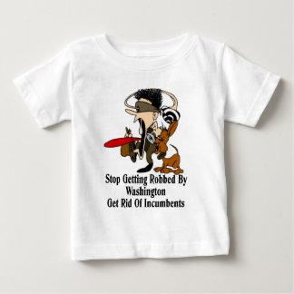 Get Rid Of Incumbents Baby T-Shirt