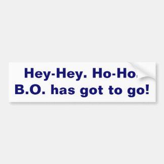 Get rid of Obama Bumper Sticker