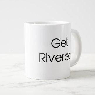 Get Rivered 20 Oz Large Ceramic Coffee Mug