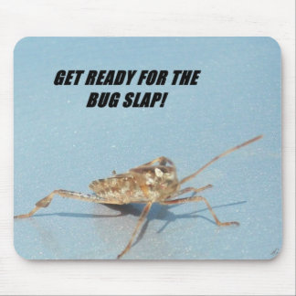 Get Rrady For the bug Slap Mouse Pad