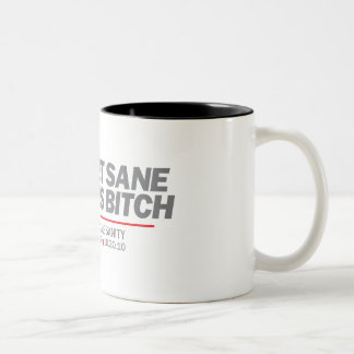 Get Sane Two-Tone Coffee Mug