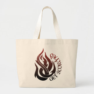 Get Scorched Jumbo Tote Bag