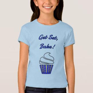 Get set bake blue cupcake T-Shirt