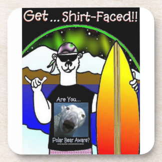 Get Shirt-Faced Coaster