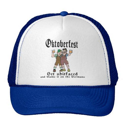 Get Shitfaced Oktoberfest Trucker Hat